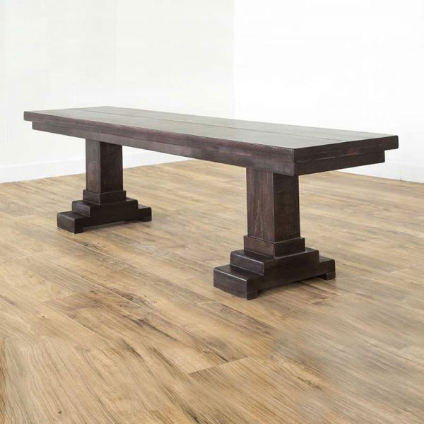 Traditional Trestle Bench | Duvall & Co.