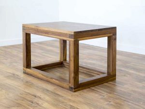 Pipe and Barn Wood Coffee Table | Duvall & Co.